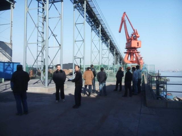 江阴市竞技宝市政沥青搅拌厂钢结构验收